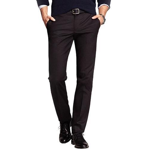 Harga Gudang Fashion Celana Formal Slim Fit Hitam Satu Set