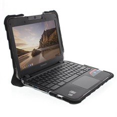 Gumdrop Case S Droptech Case untuk Lenovo N22 dan N21 Chromebook 80 Mg 80SF 80VH Guncangan Kasar Menyerap Sarung, hitam-Internasional
