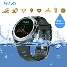 Review Terbaik H1 Smart Watch Android 5 1 Os Smartwatch Mtk6572 512 Mb 4 Gb Rom Gps Sim 3G Tahan Air Olahraga Jam Tangan Monitor Detak Jantung Camera Intl