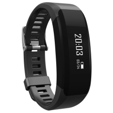 H28 Smart Wristband Heart Rate Monitor Smart Watch Bracelet Wrist Pedometer Bluetooth Smart band for iOS Android(Black) - intl