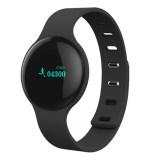 Harga H8 Bluetooth Pusat Pelacak Alat Pengukur Langkah Olahraga Jam Pintar Untuk Iosandroid Hitam Paling Murah