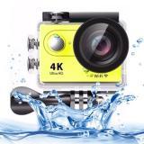 Harga H9 4 K Ultra Hd1080P 12Mp 2 Inch Lcd Layar Wifi Olahraga Kamera 170 Derajat Wide Angle Lens 30 M Tahan Air Kuning Lengkap