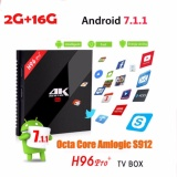 Beli H96 Pro 2G Ddr3 16G 2 4G 5Ghz Wifi 4K Box Amlogic S912 Top Set Box Android 7 1 Kodi 17 1 Tv Boxes Android Tv Box H96 Pro Plus Intl Murah Di Tiongkok