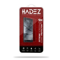 Hadez Tempered Glass - Premium Screen Protector - Anti Gores Kaca For Alcatel Flash 2 Plus - Clear