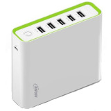 Promo Hame H18 Power Bank 5 Output 20000Mah H18 Putih Hame