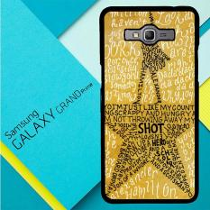 Hamilton Musical Lyrics X4979 Samsung Galaxy Grand Prime Case