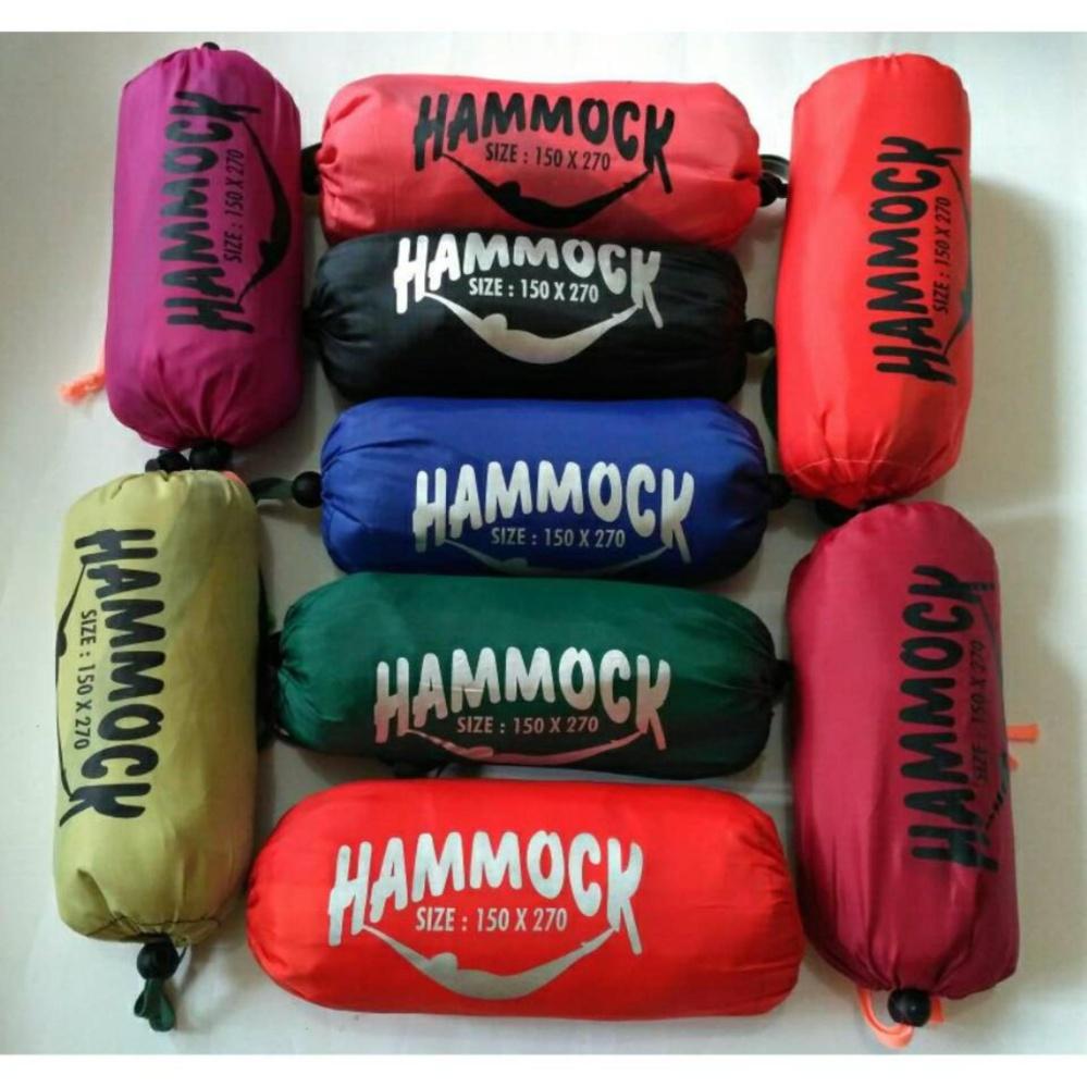 Beli Hammock Ayunan Camping Single 150 X 270 Packing Lontong Ayunan Dengan Harga Terjangkau