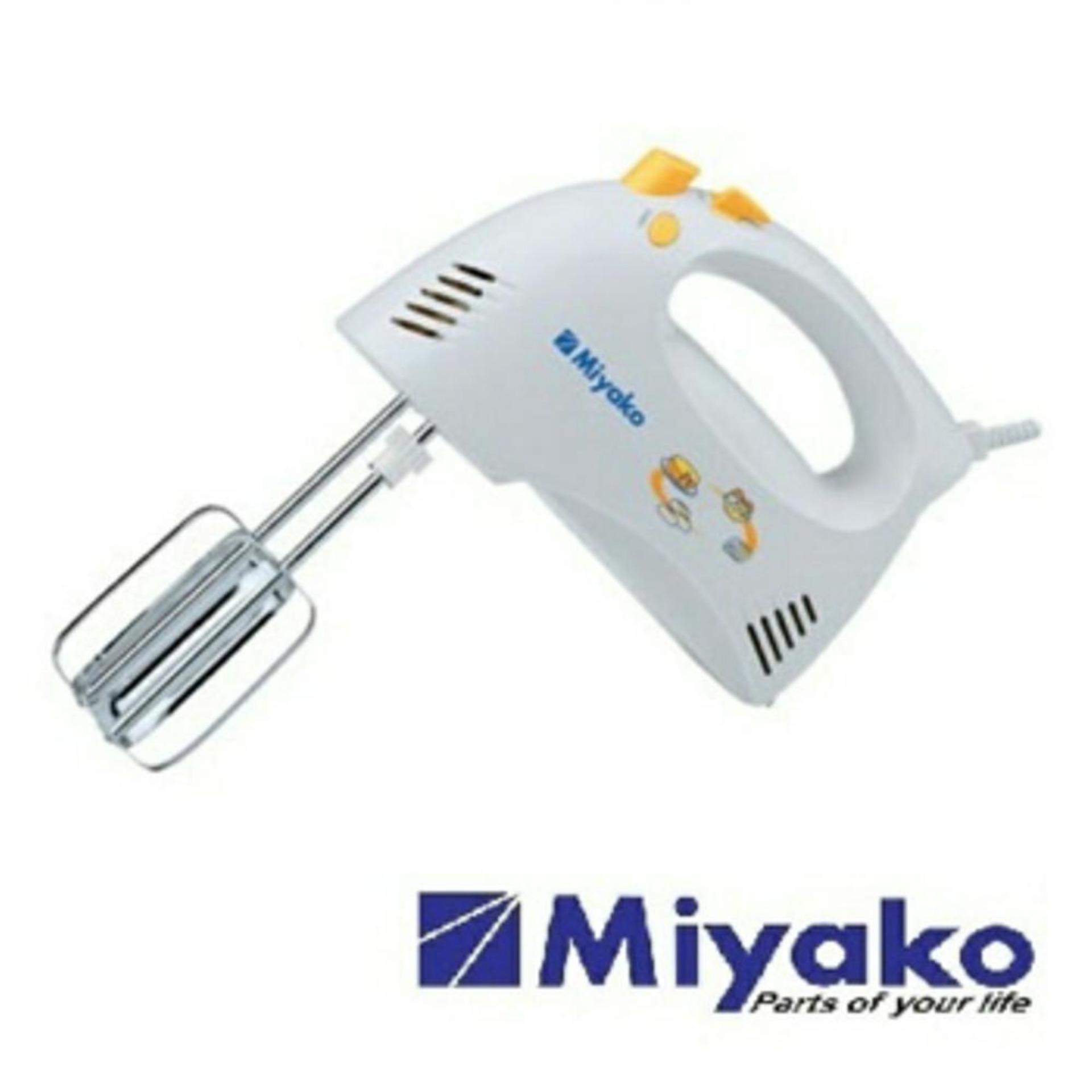 Hand Mixer / Kocokan Kue / Telur / Pencampur / Mixer Miyako HM-620