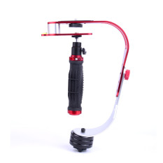Review Tentang Handheld Video Camera Stabilizer For Dslr Gopro Xiaomi Yi Red