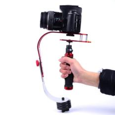 Jual Handheld Video Camera Stabilizer For Dslr Gopro Xiaomi Yi Red Grosir