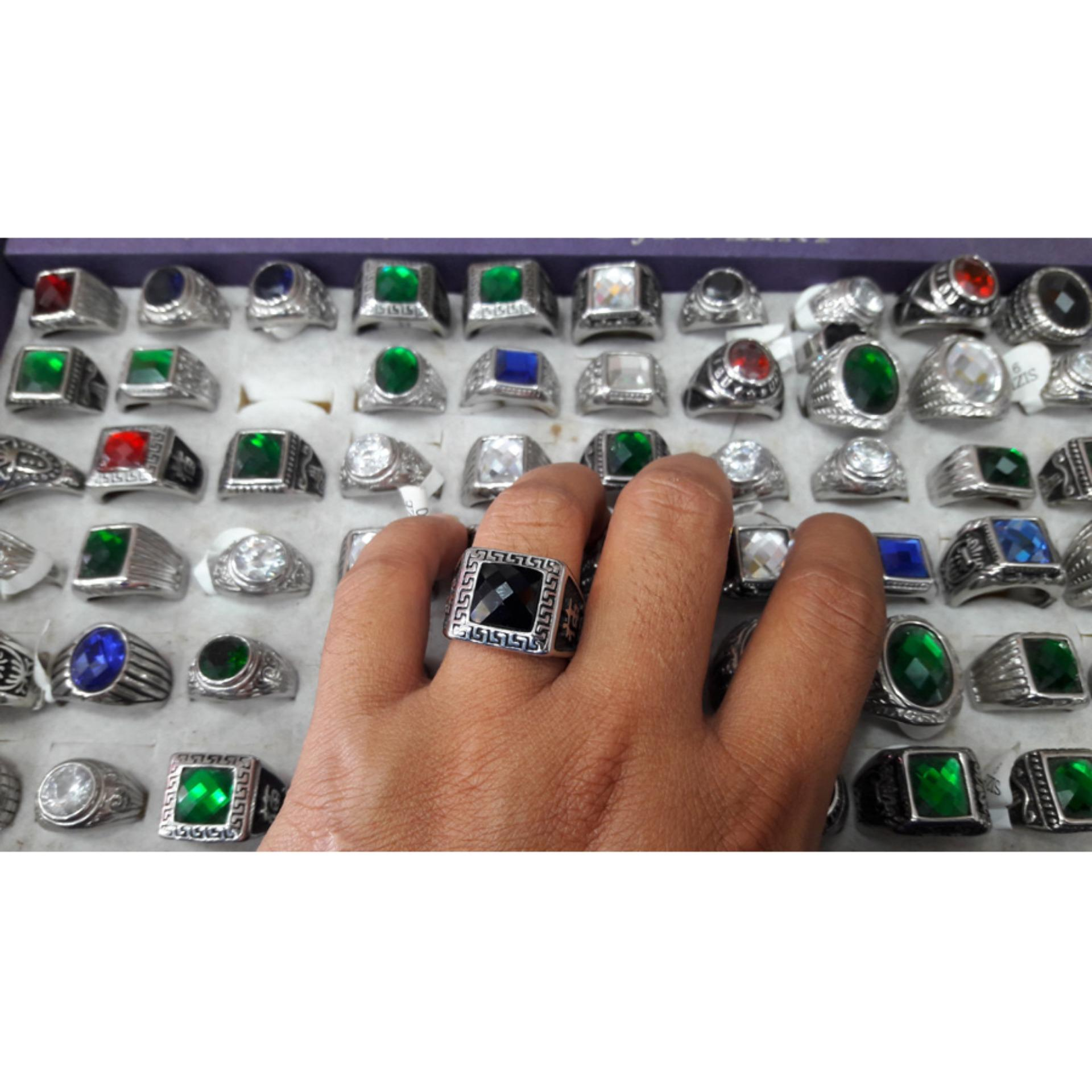 Spesifikasi Handmade Nandhut Cincin Akik Kotak Silver Paling Bagus