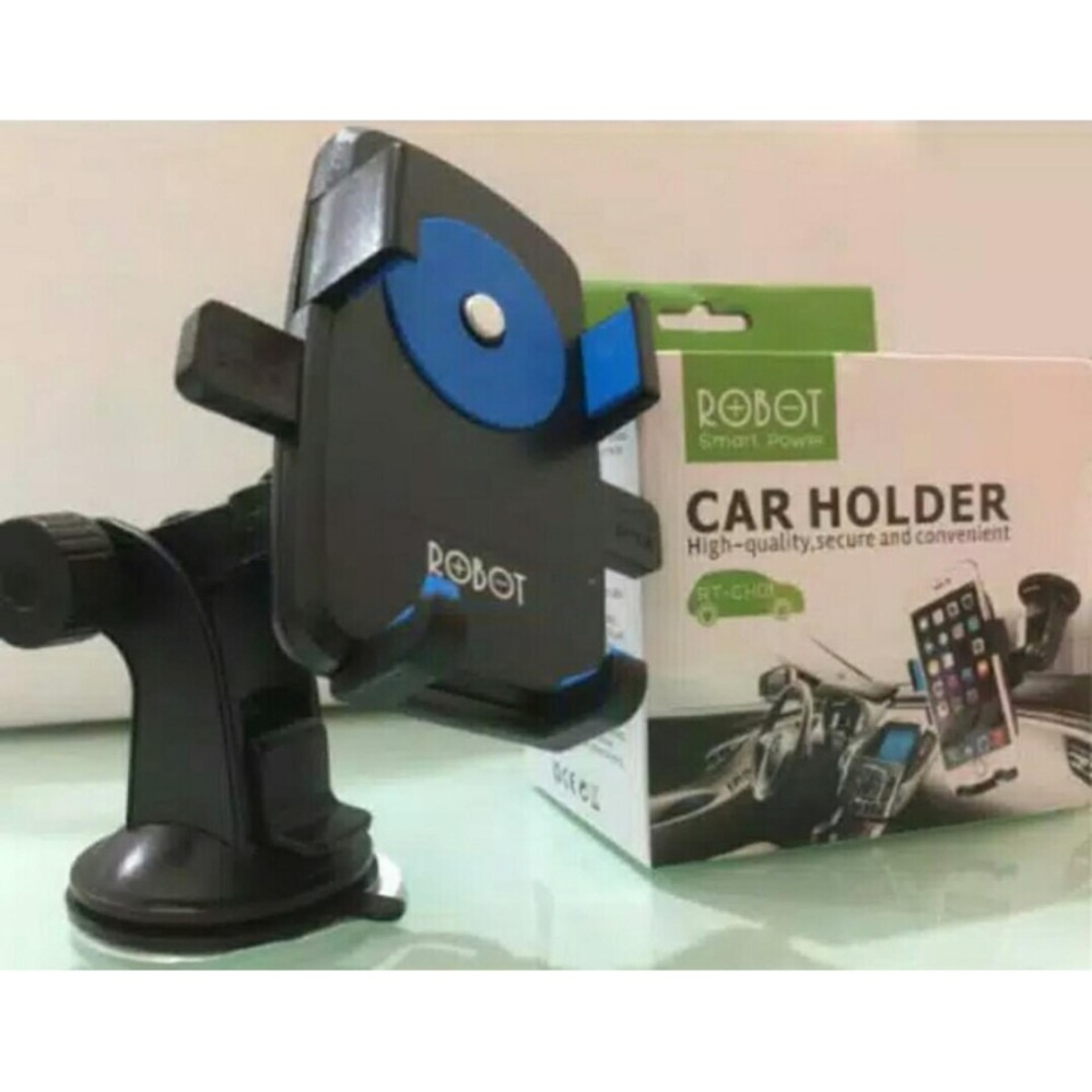 Ulasan Handphone Car Holder Mount Car Dudukan Hp Mobil Robot Rt Ch01