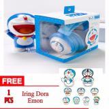 Harga Hands Free Headset Earphone Karakter Dora Emon Original 100 Universa Free Iring Karakter Dora Emon Baru Murah