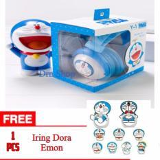 Ulasan Lengkap Hands Free Headset Earphone Karakter Dora Emon Original 100 Universa Free Iring Karakter Dora Emon