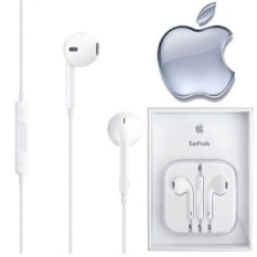 Handsfree iPhone 4 5 6 Earphone Headset Best Quality Garansi