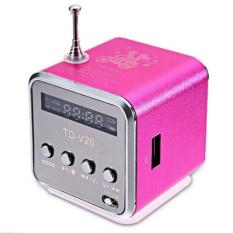 Situs Review Handsfree Portable Mini Stereo Super Bass Speaker Amplifier Subwoofer Fm Radio Usb Micro Sd Tf Card Mp3 Player Td V26 Intl