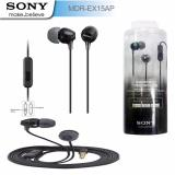 Harga Handsfree Sony Headphone Mdr Ex15Ap Black Merk Sony Accessories
