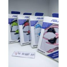 Handsfree Sport Branded Asus Handsfree With Cantolan Telinga Pengiriman Random - Bisa Untuk Samsung Galaxy S4 S5 S6 S7 EDGE A3 A5 J1 J2 J3 J5 J7 2016 E5 E7 Mega Mini Young Y Core Grand Duos Prime Ace Note 1 2 3 4 5 On