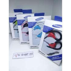 Handsfree Sport Branded Samsung Handsfree With Cantolan Telinga Pengiriman Random - Bisa Untuk Samsung Galaxy S4 S5 S6 S7 EDGE A3 A5 J1 J2 J3 J5 J7 2016 E5 E7 Mega Mini Young Y Core Grand Duos Prime Ace Note 1 2 3 4 5 On