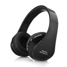 Handsfree Stereo Foldable Wireless Headphones Casque Audio Bluetooth Headset Cordless Earphone for Computer PC Head Phone Set - intl