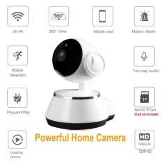 HANJIA Dome Camera PET Baby Monitor 720 P HD Kamera Keamanan Rumah, 2.4G WIFI Wireless IP Camera, Sistem Pengawasan Keamanan, Dukungan Audio 2 Arah, Lampu Gerak, Night Vision