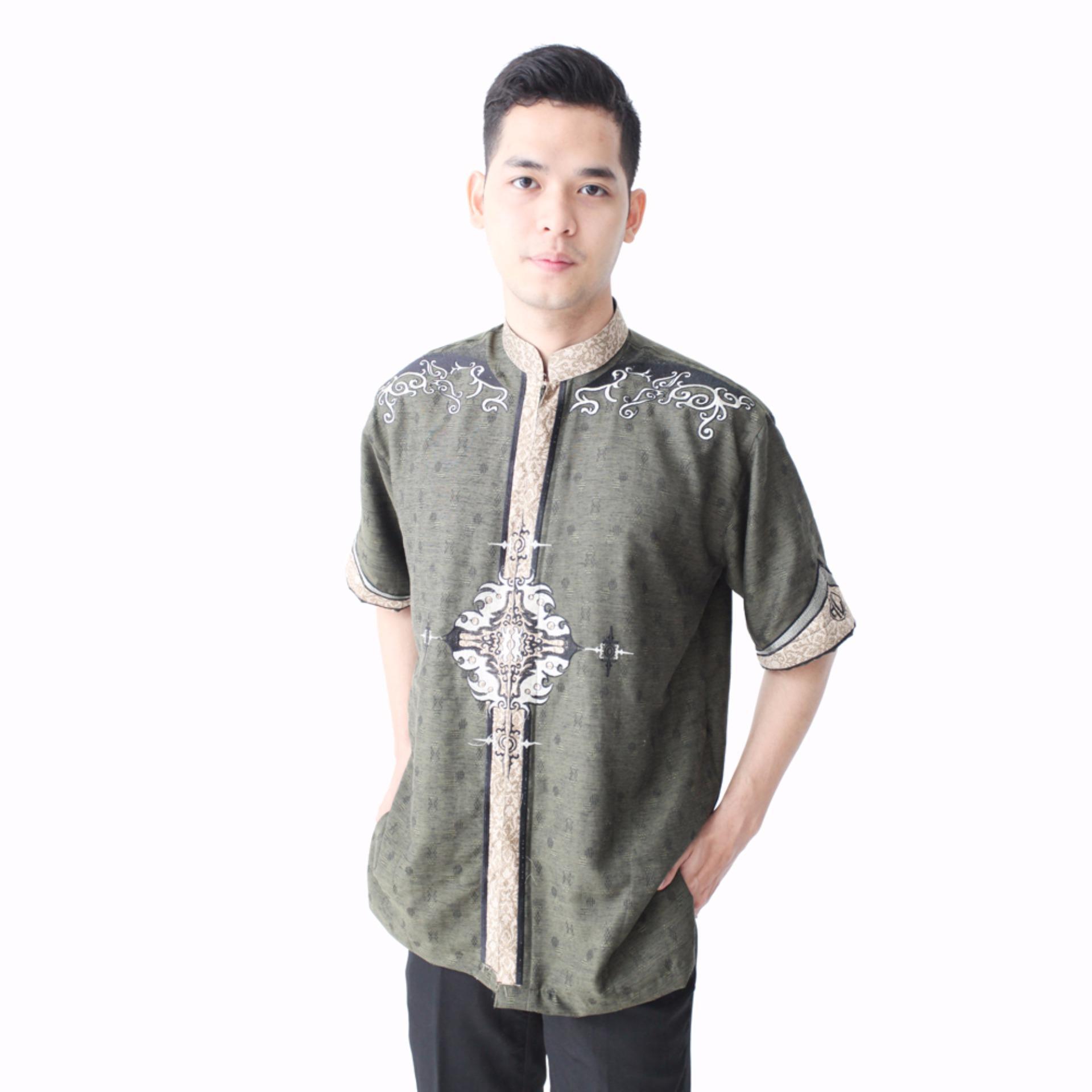 hansen-&-lisa-baju-koko-lengan-pendek-aplikasi-batik-medalion-hijau-1234-62857451-7bb84c59984e203a1226de04c19da2e5 Kumpulan List Harga Tokopedia Baju Koko Batik Paling Baru saat ini