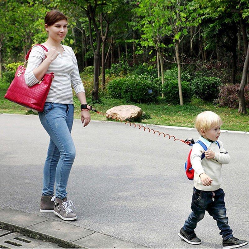 Toko Haotom Kid Keeper Bayi Walkers Gulat Sabuk Bayi Wrist Safety Harnesses Untuk Anak Anak Pegangan Elastis Anti Hilang Sabuk Baru Year Gift Orange Lengkap Di Tiongkok