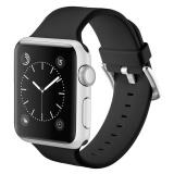 Beli Haotop Untuk Apple Sports Watch Band Silicone Bracelet Strap Gelang Penggantian Band Untuk Apple Watch Watch Series 1 2 38Mm Intl