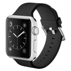Toko Haotop Untuk Apple Sports Watch Band Silicone Bracelet Strap Gelang Penggantian Band Untuk Apple Watch Watch Series 1 2 38Mm Intl Lengkap
