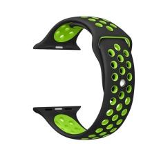 Haotop untuk Apple Watch Band Series 2/1 Soft Olahraga Silicone Bracelet Strap Gelang Penggantian Watchband untuk Apple IWatch NIKE Sport Band 42mm-Intl