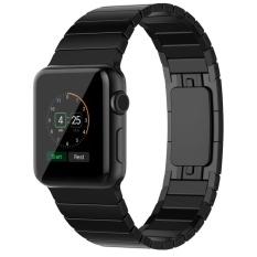 Haotop Untuk Apple Watch Band Stainless Steel Strap Link Gelang Dengan Butterfly Closure Penggantian Band Untuk Apple Watch Series 1 Seri 2 42Mm Intl Diskon Tiongkok