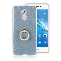 Happon Case untuk Huawei Nikmati 6 S Sparkling Ramping Sesuai Lembut TPU Case dengan Lingkaran Pegangan-Internasional