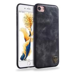 Happon Case untuk IPHONE 7/iPhone 8 Premium PU Kulit Case Guncangan Tahan Pelindung Kembali
