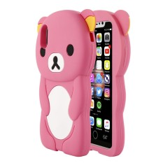 Leegoal Beige 3d Rilakkuma Bear Soft Silicone Gel Case Cover For Source · Happon Case untuk iPhone X 3D Rilakkuma Lucu Kartun Lembut Silikon Karet Belakang ...