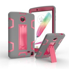 Happon Case untuk LG G PAD 2 8.0 V498soft Silicone + PC Anti-Scratch Protective Case Tablet-Intl