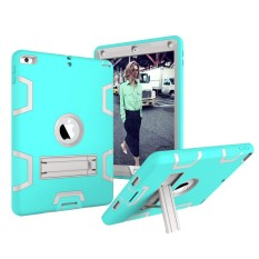 Happon Case untuk Baru Ipad 9.7 Inch 2017 Soft Silicone + PC Anti-Scratch Protective Case Tablet-Intl