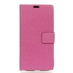 Happon Case for Samsung Galaxy S8 Active Woven Pattern PU Leather Wallet Case with Card Slots - intl