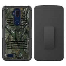 Happon Case for ZTE Blade Max 3 / Z986U Hybrid Combo Full Body Armor High Impact Shockproof Case - intl