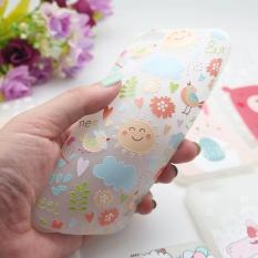 Happy Cartoon Oppo A39 Softcase Glow In The Dark Cover Case