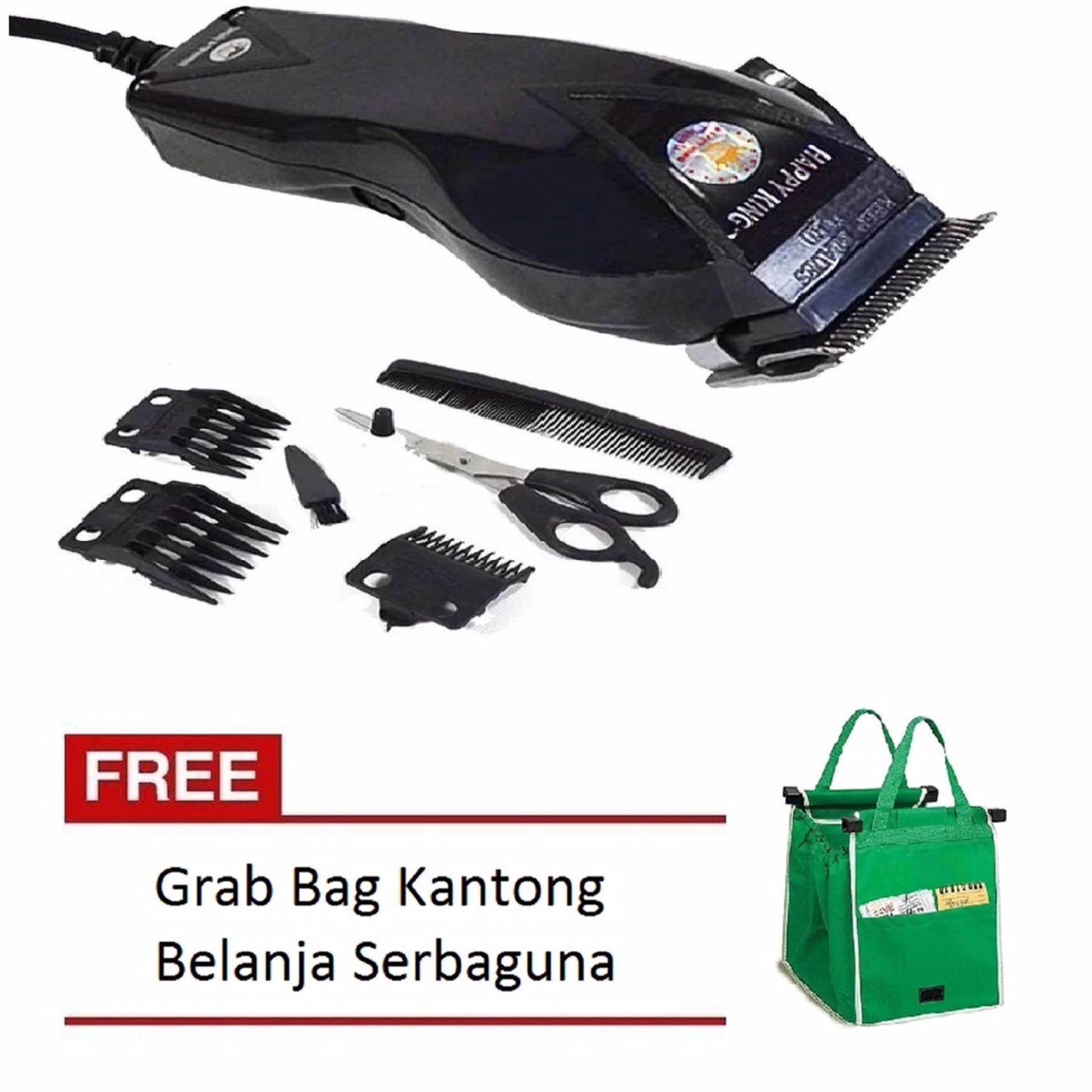 Toko Indonesia Perbandingan Harga I Am King 27 05 18 Alat Cukur Rambut Happy Hk 900 Clipper Trimer Professional Hair Trimmer Mesin Hitam Free Grab Bag