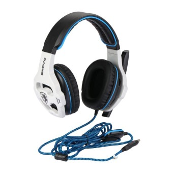 headphone gaming sades Happy Weekend USB Wired 7.1 Surround Sound Effect Headphone Pro Gaming Headset For