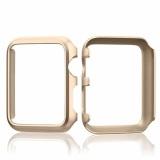 Harga Aluminium Berlapis Keras Bumper Pelindung Kulit To Apple Watch Seri 1 38Mm Semua Model Case Penutup Emas Oem Ori