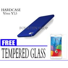 Review Hard Case For Vivo Y53 Free Tempered Glass Terbaru