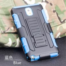 Hard Plastic Case untuk Samsung Galaxy Note4 N910 (Biru)-Intl