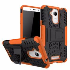 Hard Plastik + TPU Hibrida Armor Bracket Impact Holster Cover Case untuk Coolpad Dazen Catatan 5 (Orange) -Intl