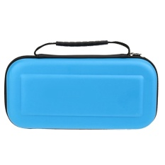 Hard Portable Travel Carrying Protective Storage EVA Case Bag Shell Sleeve Cover for Nintendo Switch Cables Game Card Accessories Blue - intl