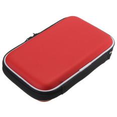 Diskon Hard Pouch Universal Anti Getar Untuk Melindungi Tas 2 5 Cm Harddisk Portabel Merah