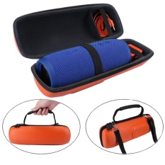 Hard Pu Travel Carry Tempat Penyimpanan Untuk Jbl Charge 3 Bluetooth Speaker Dan Charger Intl Murah