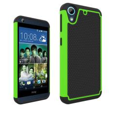 Hard/Soft Slim Pelindung Case untuk HTC Desire 626 626 W 626D 626g 626 S (Hijau/ Hitam) -Intl