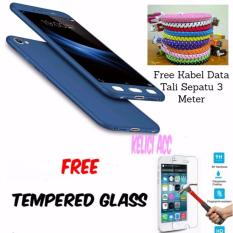 Hardcase 360 Front/back Full Protection For Oppo F5 Free Temperd Glass Premium And Free Kabel Data Tali Sepatu 3 Meter_2793